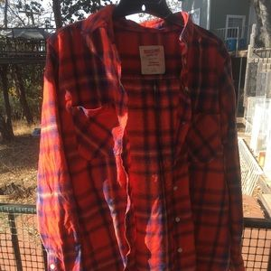Used flannel